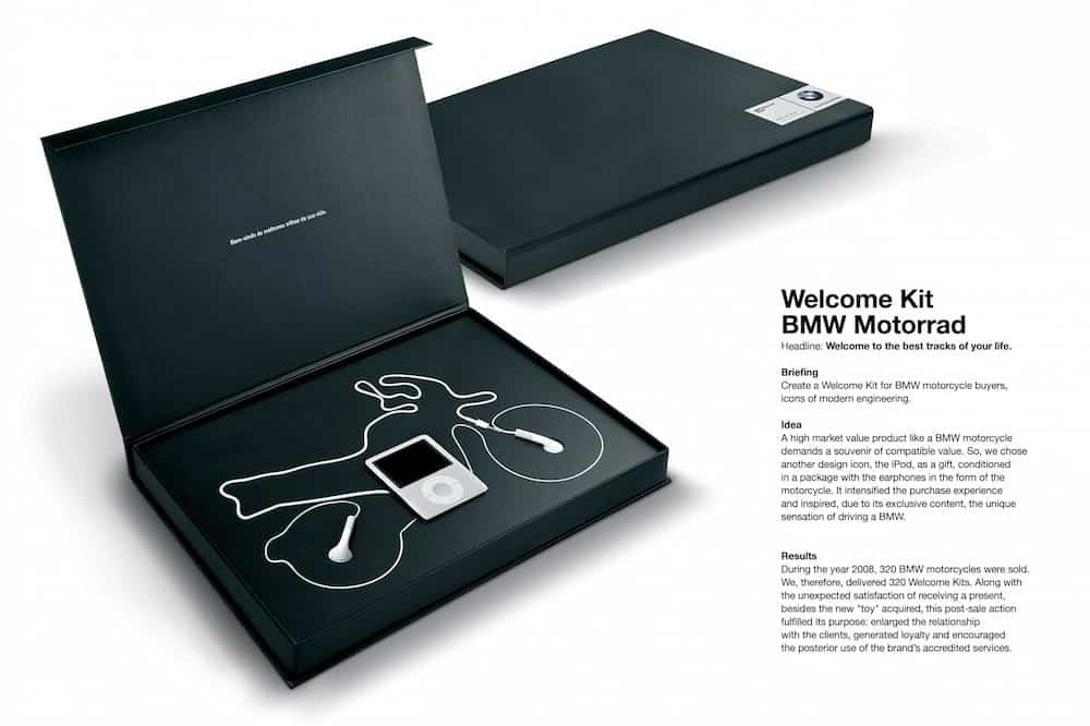welcome kit bmw